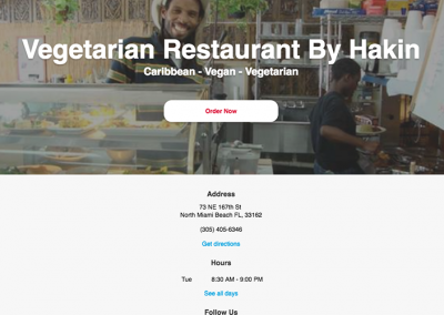 The Vegetarian Restaurant By Hakin