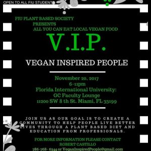 Vegan Inspired People