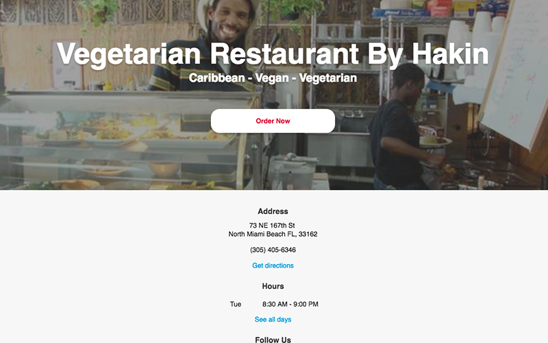 The Vegetarian Restaurant by Hakin