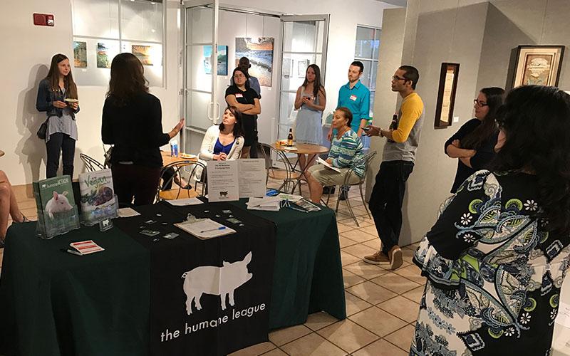 The Humane League at ArtServe