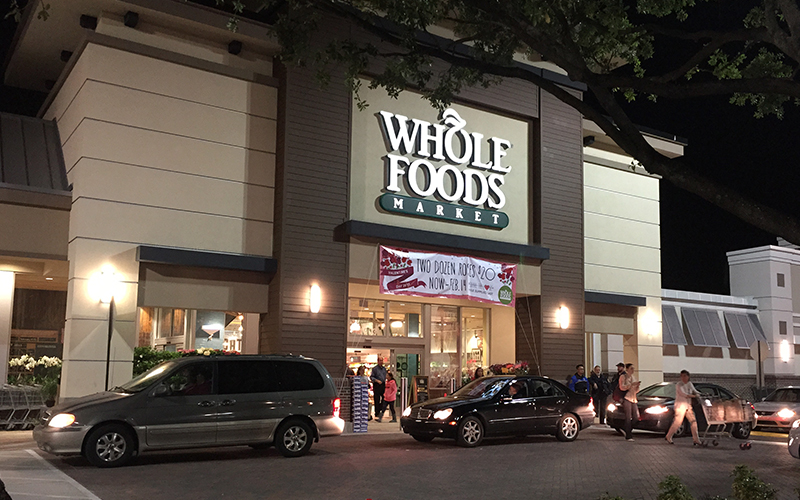 Front of Whole Foods