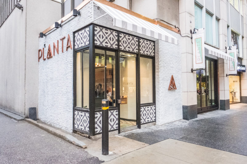 Plant-based Restaurant, Planta, Opening First United States Location in SoFi Neighborhood in Early 2018