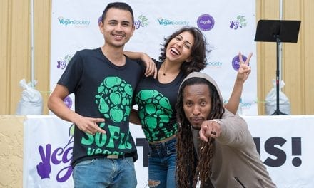 SoFlo Vegans at Palm Beach VegFest on January 20, 2018