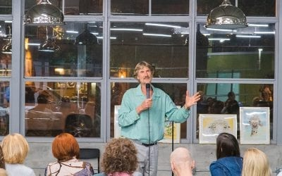 Dr. Will Tuttle at Vegan Fine Foods