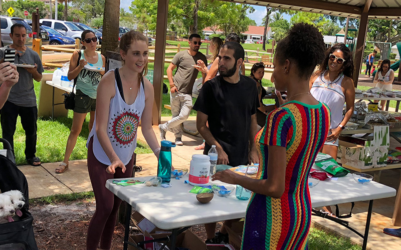 June Vegan Potluck Event Taking Place at TY Park on June 10, 2018