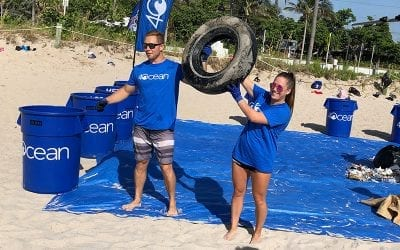 4Ocean Celebrates Collecting Over 1 Million Pounds of Trash with 200 Volunteers at Hugh Taylor Birch Park