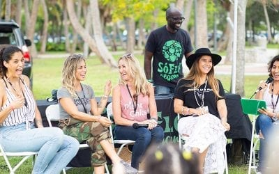 SoFlo Vegans Host the Speakers Stage at the 2018 Vegan Block Party