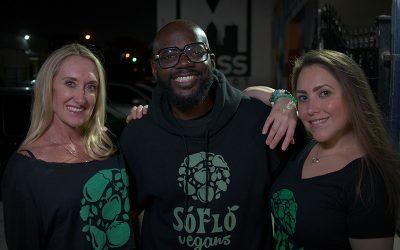 SoFlo Vegans Unite at Leaves & Roots Lounge