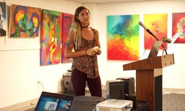 Liz Jones Presentation on Being an Animal Rights Activist