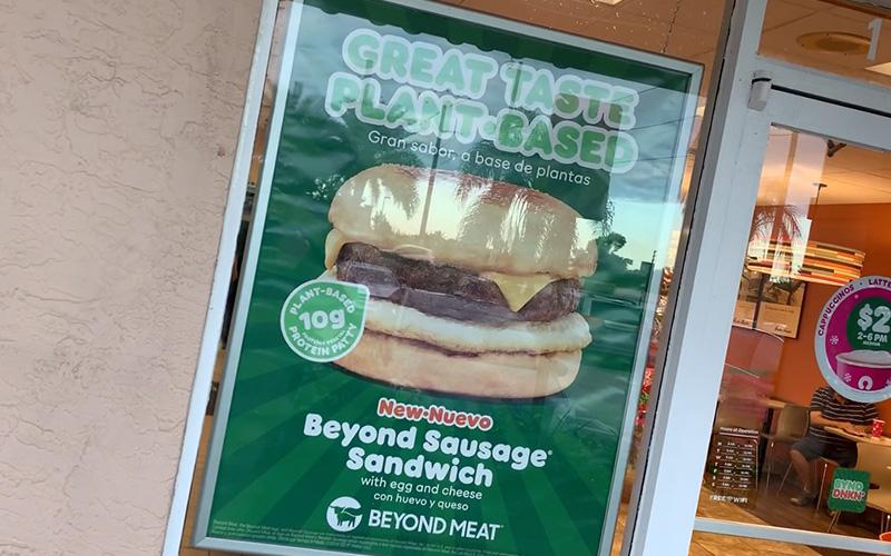Dunkin Beyond Sausage Sandwich