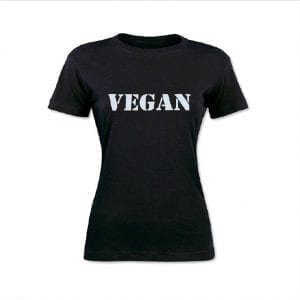 Vegan T-Shirt Women's Cut
