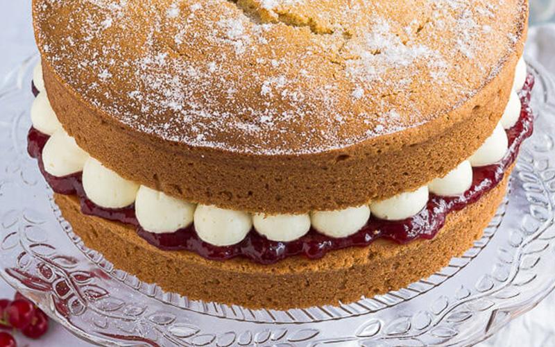 Domestic Gothess Sponge Cake