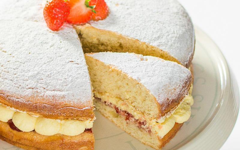 The Veg Space Sponge Cake
