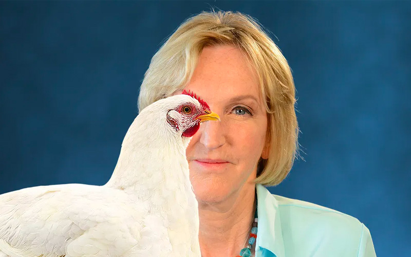 Ingrid Newkirk: Remarkable Discoveries about Animals and Revolutionary New Ways to Show Them Compassion