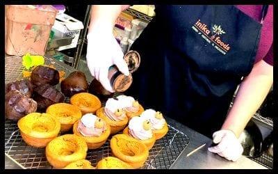 Vegan Chocolate Pumpkin Cake Bowl at Inika Foods | Spotlight