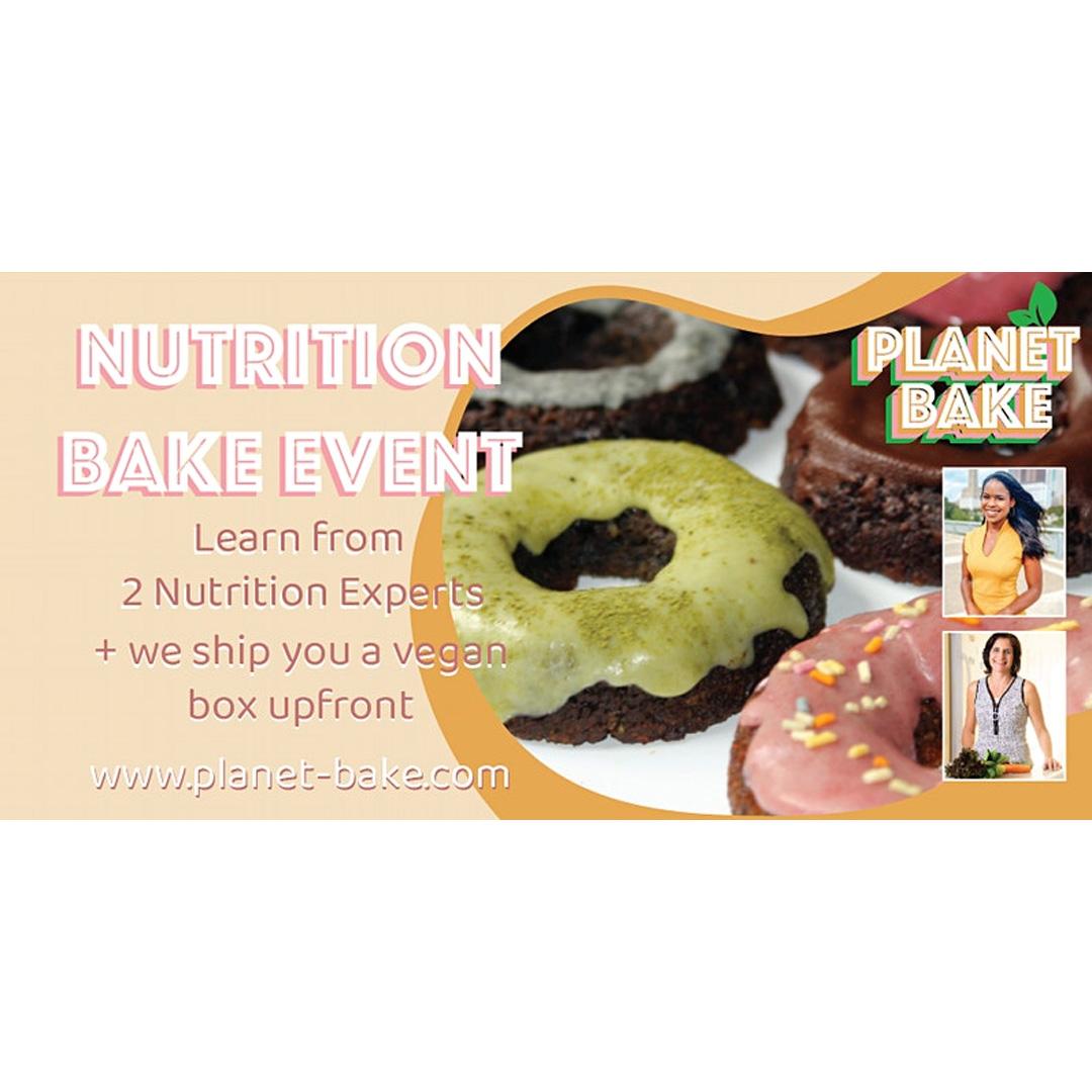 Virtual Vegan Bake Event