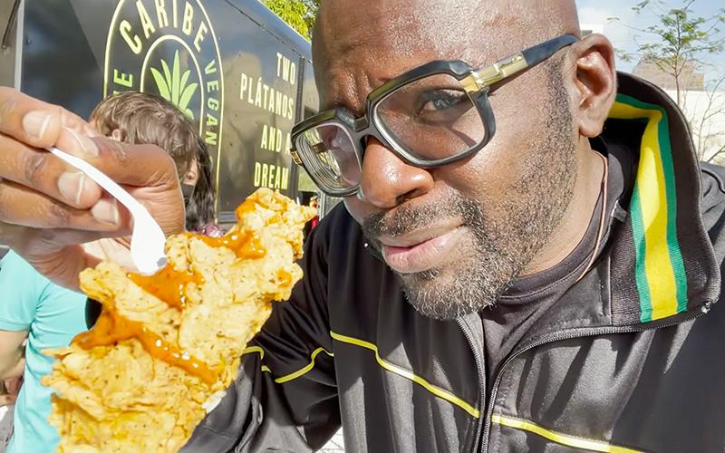 The Caribe Vegan Food Truck in South Florida