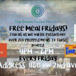 Free Meal Fridays